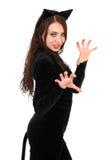 Giovane brunette attraente Fotografie Stock Libere da Diritti