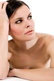 Giovane brunette - ritratto dello studio Fotografia Stock Libera da Diritti