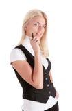 Giovane business-woman Fotografia Stock Libera da Diritti