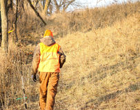 Giovane cacciatore Fotografia Stock Libera da Diritti