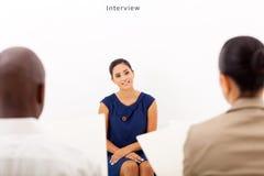 Intervista di lavoro Immagini Stock Libere da Diritti