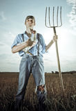 Giovane coltivatore Fotografie Stock Libere da Diritti