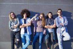 Giovane concetto di amicizia della gioventù del gruppo Fotografia Stock Libera da Diritti