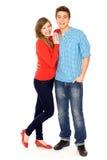 Giovane condizione delle coppie Fotografie Stock