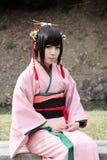 Giovane cosplayer giapponese Fotografie Stock Libere da Diritti