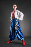 Giovane cossack ucraino fotografie stock