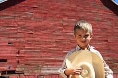 Giovane cowboy Immagini Stock