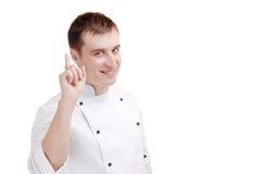 Giovane cuoco unico Fotografie Stock
