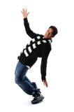Giovane Dancing dell'afroamericano immagini stock
