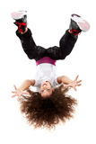 Giovane dancing femminile Immagine Stock