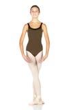 Giovane danzatore di balletto fotografia stock