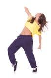 Giovane danzatore grazioso della donna Immagini Stock