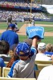 Giovane Dodger smazza fotografia stock libera da diritti