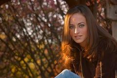 Giovane donna 15 Fotografia Stock