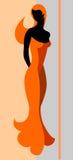 Giovane donna. Fotografia Stock