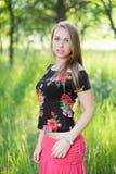 Giovane donna adorabile fotografie stock libere da diritti