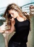 Giovane donna affascinante Fotografia Stock