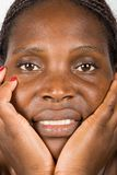 Giovane donna africana Fotografie Stock Libere da Diritti
