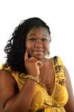 Giovane donna africana immagini stock libere da diritti