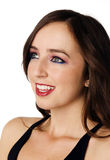 Giovane donna amichevole sorridente Fotografie Stock