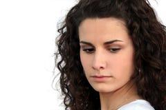 Giovane donna arrabbiata Fotografie Stock Libere da Diritti