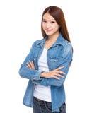 Giovane donna asiatica fotografie stock libere da diritti
