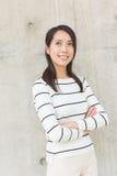 Giovane donna asiatica immagine stock