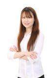 Giovane donna asiatica di affari Immagine Stock Libera da Diritti