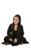 Giovane donna asiatica felice immagini stock libere da diritti