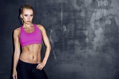 Giovane donna atletica Fotografia Stock