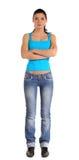 Giovane donna attraente Fotografia Stock