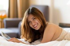 Giovane donna bella Fotografia Stock Libera da Diritti
