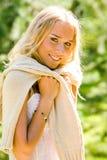 Giovane donna bella Fotografia Stock