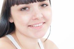 Giovane donna in buona salute sorridente Immagini Stock