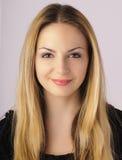 Giovane donna con il bello fronte simmetrico Immagine Stock Libera da Diritti