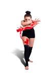 Donna della ginnasta Immagini Stock Libere da Diritti
