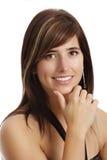 Giovane donna con il sorriso Immagine Stock Libera da Diritti