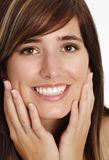 Giovane donna con il sorriso immagini stock libere da diritti