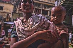 Giovane donna dall'India fotografia stock libera da diritti