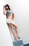 Giovane donna del marinaio Immagine Stock