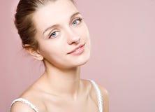 Giovane donna del ritratto Immagine Stock