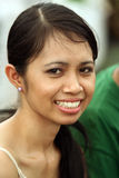 Giovane donna del ritratto Fotografia Stock Libera da Diritti
