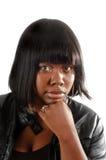 Giovane donna dell'afroamericano Immagini Stock Libere da Diritti