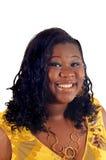 Giovane donna dell'afroamericano fotografia stock libera da diritti