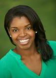 Giovane donna dell'afroamericano Fotografie Stock
