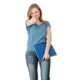 Giovane donna dell'allievo Fotografia Stock Libera da Diritti