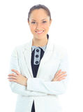 Giovane donna di affari Fotografie Stock Libere da Diritti