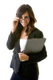 Giovane donna di affari Immagini Stock Libere da Diritti