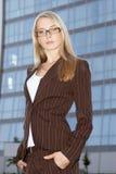 Giovane donna di affari 3 Fotografia Stock