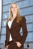 Giovane donna di affari 4 Fotografie Stock